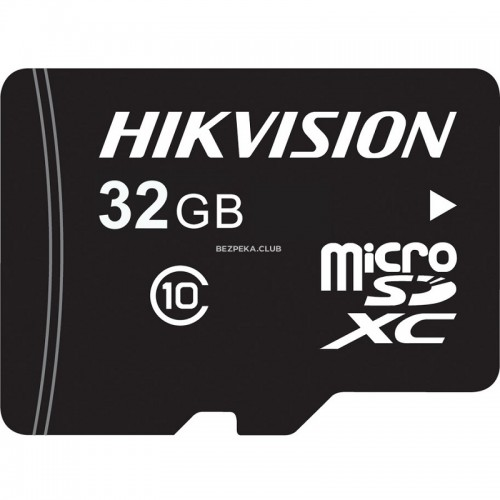 Карта пам'яті Hikvision MicroSD HS-TF-L2I/32GB