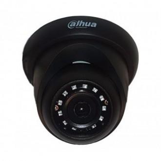 2 Мп HDCVI відеокамера Dahua DH-HAC-HDW1200RP-BE (2.8 мм)