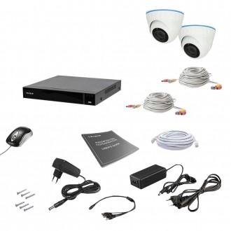 Комплект відеоспостереження Tecsar AHD 2IN 8MEGA