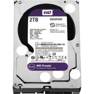 Жорсткий диск Western Digital Purple WD20PURX 2TB