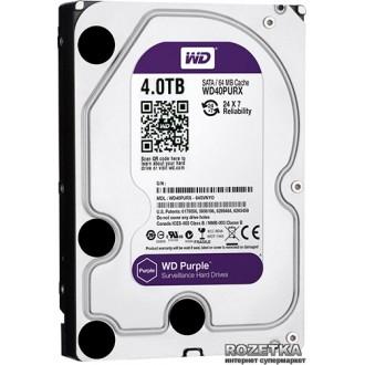 Жорсткий диск Western Digital Purple WD40PURX 4TB