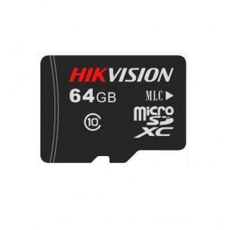 Карта пам'яті Hikvision MicroSD HS-TF-P1/64G
