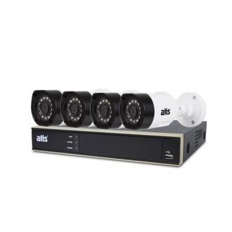 Комплект відеоспостереження Atis kit 4ext 2MP